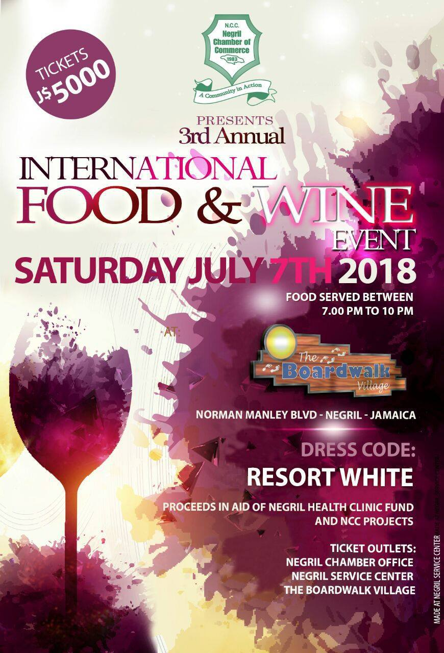 International-Food-and-Wine-Event-Hosted-by-Negril-Chamber-of-Commerce-and-The-Boardwalk-Village